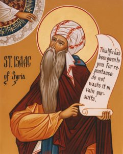 St. Isaac of Syria (Detail) - S129