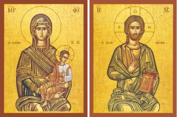 "Theotokos ""The Protector"" & Christ ""The Life-Giver"" – T12 & J14"