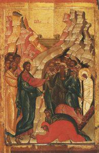 Icon of the Raising of Lazarus – CF1012