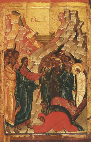 Icon of the Raising of Lazarus – CF1012
