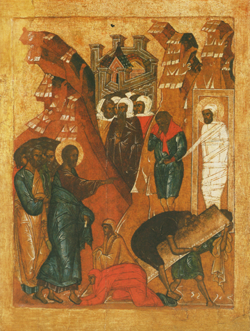 Icon of the Raising of Lazarus – CF1013
