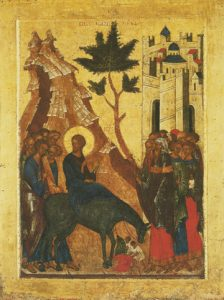 Icon of the Entry into Jerusalem – CF1014