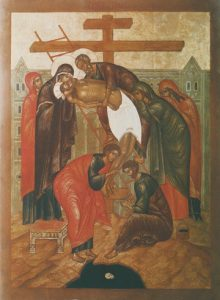 Icon of the Taking Down from the Cross – CF1029