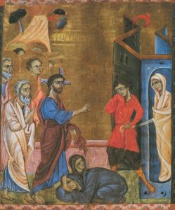 Icon of the Raising of Lazarus – CF10588