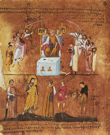 Icon of Christ Before Pilate – CF1073