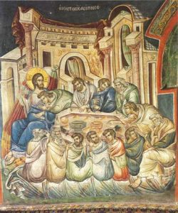 Icon of the Mystical Supper – CF1178