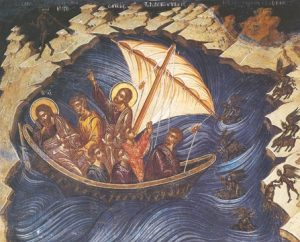 Icon of Christ Rebuking the Sea – CF722