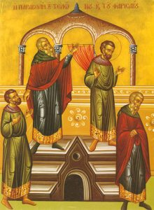 Icon of the Parable of the Publican and Pharisee – CF726