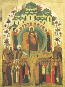 "Icon of ""All of Creation Rejoices"" – CF738"
