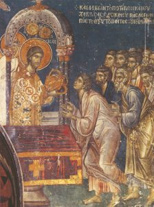 Icon of the Communion of the Apostles – CF752