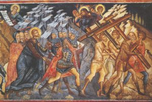 Icon of Christ's Road to Calvary – CF753