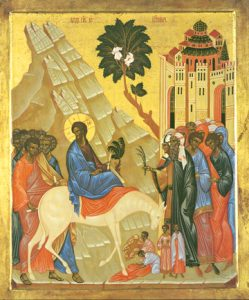 Icon of the Entry into Jerusalem – CF772