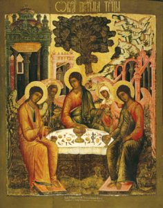 Icon of the Holy Trinity (Hospitality of Abraham) – CF774
