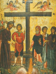 Icon of Christ at the Foot of the Cross – CF796