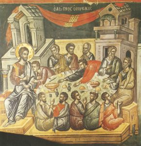 Icon of the Mystical Supper – CF830