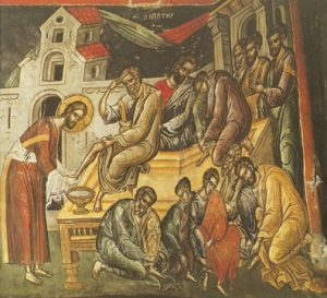 Icon of the Washing the Disciples' Feet – CF831
