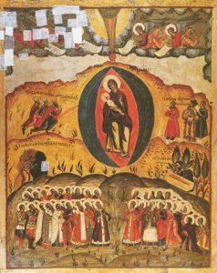 Icon of the Synaxis of the Theotokos – CF859