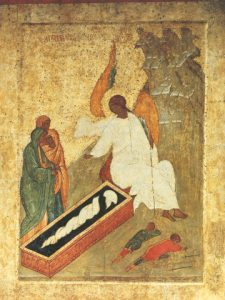 Icon of the White Angel at the Tomb – CF865