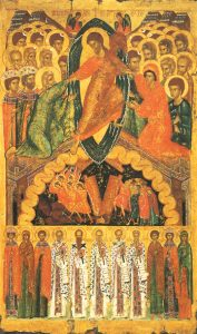 Icon of the Resurrection, with Saints – CF866