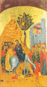 Icon of the Entry into Jerusalem – CF875