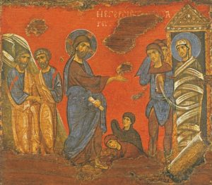 Icon of the Raising of Lazarus – CF882