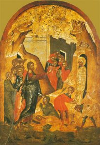 Icon of the Raising of Lazarus – CF911