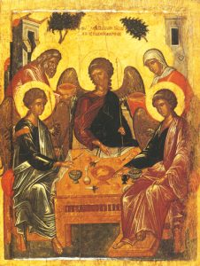 Icon of the Hospitality of Abraham – CF945