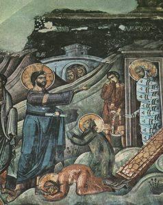 Icon of the Raising of Lazarus – CF982