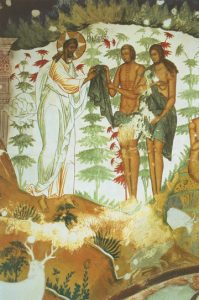 Icon of Adam and Eve Given Clothing by God – CF989