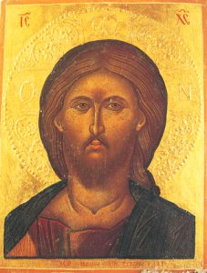 Icon of the Pantocrator (Cretan) – CJ827