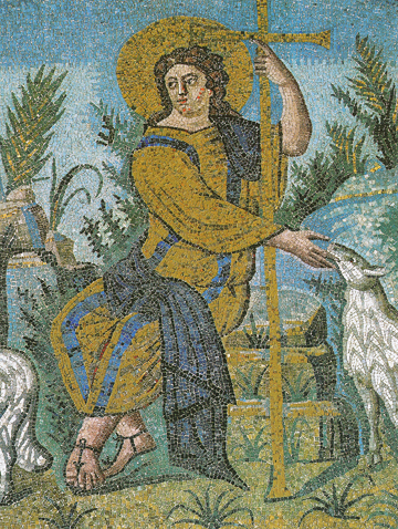 CIcon of Christ the Good Shepherd (Detail) – CJ858