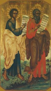 Icon of Abbacum and Jeremiah the Prophets – CP802