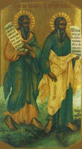 Icon of Malachi and Ezekiel the Prophets – CP804