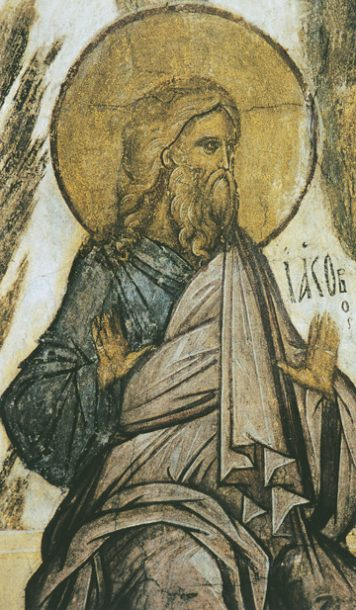 Icon of Patriarch Jacob (Detail) – CP813