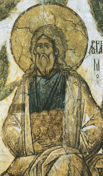 Icon of Patriarch Abraham (Detail) – CP814