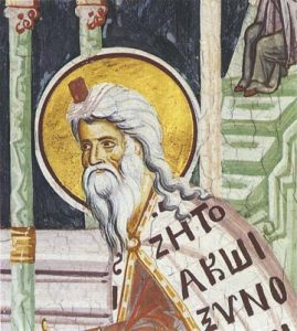 Icon of Zacharias the Prophet – CP842
