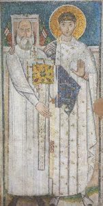 Icon of St. Demetrios with a Deacon – CS1015