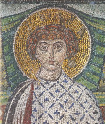 Icon of St. Demetrios (Detail) – CS1016