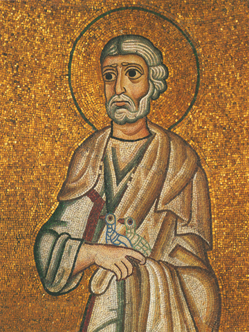 Icon of St. Joseph the Betrothed (Detail) – CS1019
