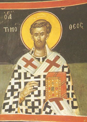 Icon of St. Timothy – CS1080