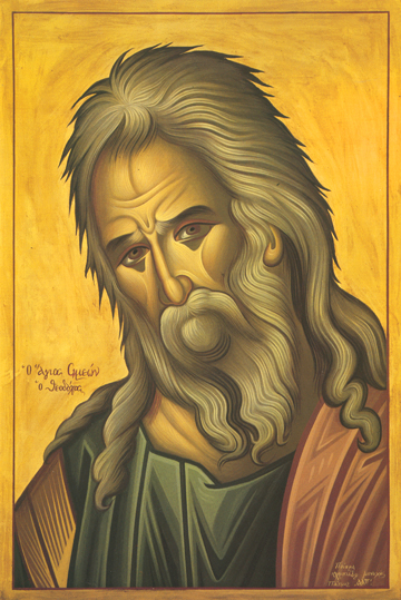 Icon of St. Symeon the God-Receiver – CS1103