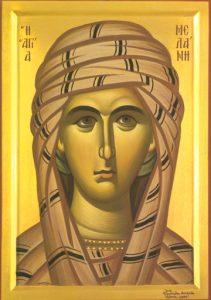 Icon of St. Melania – CS1105