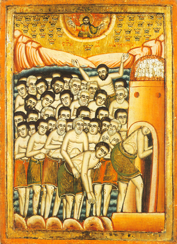 Icon of the Forty Holy Martyrs of Sebaste – CS1221