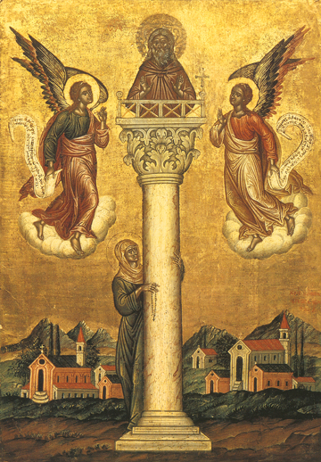 Image result for Saint Simeon Stylite