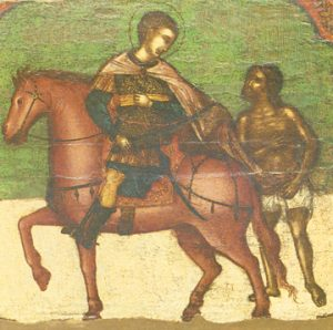 Icon of St. Martin the Merciful of Tours – CS1274