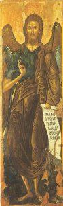 Icon of St. John the Baptist – CS1314