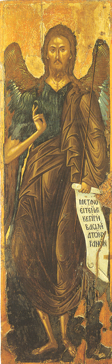 Icon of St. John the Baptist – CS1314