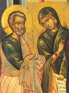 Icon of SS Joseph the Betrothed and the Righteous Anna – CS1330