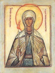 Icon of St. Genevieve – CS1345
