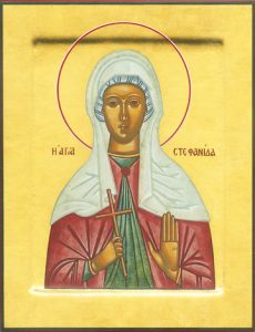 Icon of St. Stephanie – CS1369